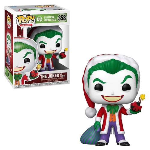 [PRE-ORDER] Funko POP! DC Holiday - Santa Joker Vinyl Figure