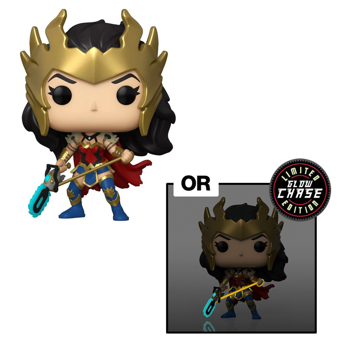 Funko POP! Wonder Woman (80th Anniversary) - Death Metal Wonder Woman Vinyl Figure #385 Preview Exclusives (PX) [READ DESCRIPTION]