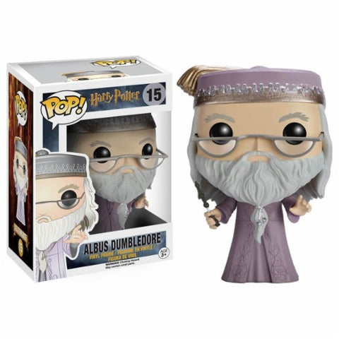 Funko POP! Harry Potter - Albus Dumbledore with Wand Vinyl Figure #15
