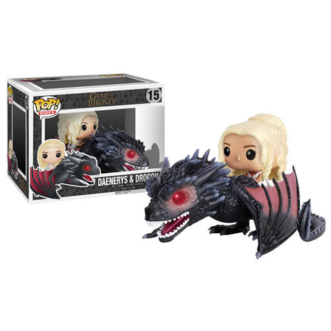 Funko POP! Game of Thrones - Daenerys on Drogon Dragon Vinyl Figure