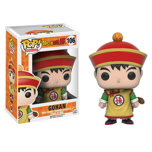 Funko POP! Dragon Ball Z - Gohan Vinyl Figure #106