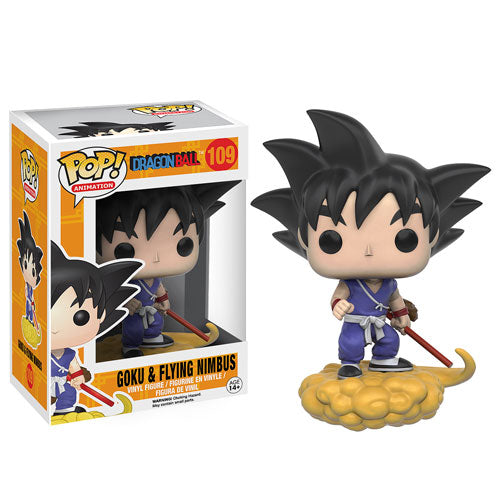 Funko POP! Dragon Ball Z - Goku on Flying Nimbus Vinyl Figure #109