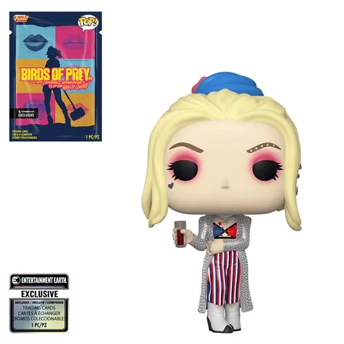 Funko POP! Birds of Prey - Harley Quinn Black Mask Club with Collectible Card  - Entertainment Earth Exclusive