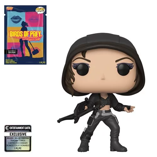 Funko POP! Birds of Prey - Huntress with Collectible Card  - Entertainment Earth Exclusive