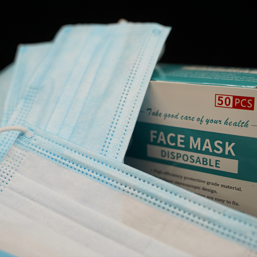 Non-Medical 3-Layers Disposable Face Mask - Pack of 50