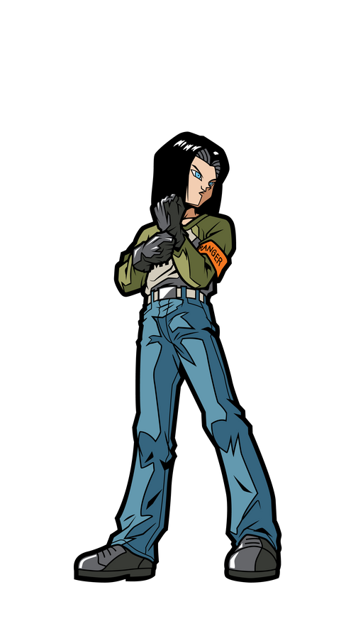 FiGPiN mini: Dragon Ball Super - Android 17 #M4