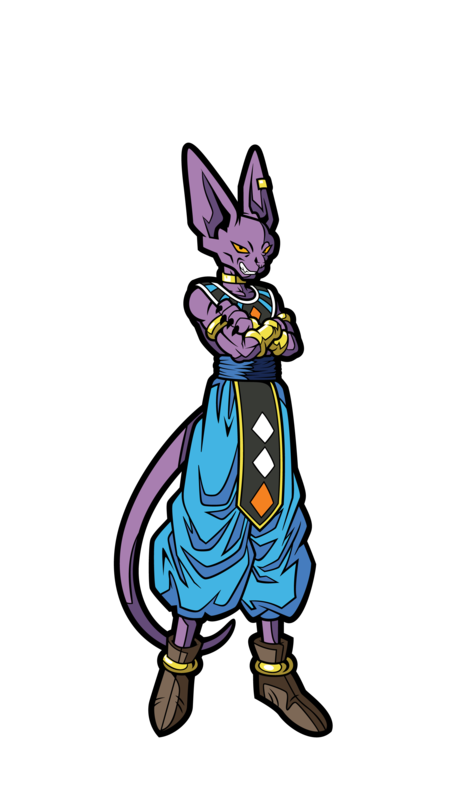 FiGPiN mini: Dragon Ball Super - Beerus #M5