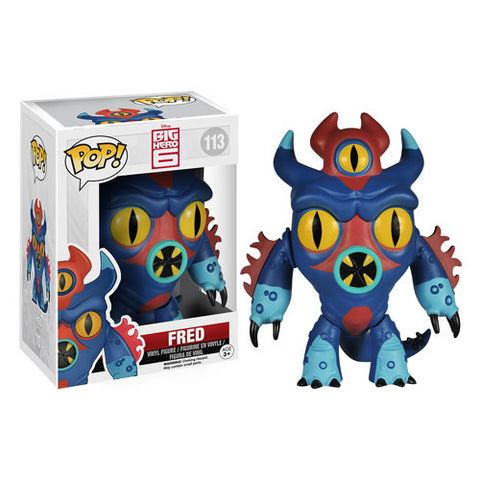 Funko POP! Big Hero 6 - Fred Vinyl Figure #113