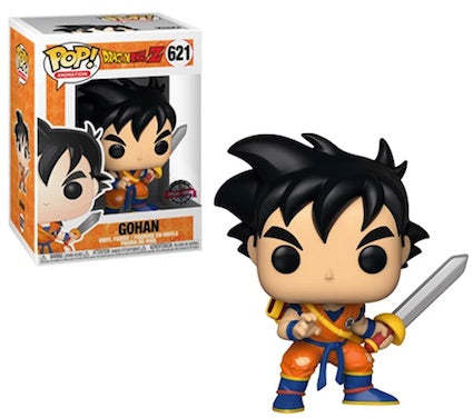 Funko POP! Dragon Ball Z - Gohan with Sword Vinyl Figure #621 Special Edition Exclusive (NOT 100% MINT)