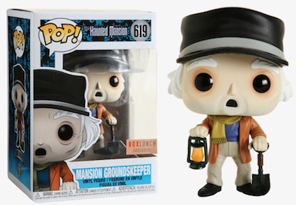 Funko POP! Haunted Mansion - Mansion Groundskeeper Vinyl Figure #619 Box Lunch Exclusive (NOT 100% MINT)