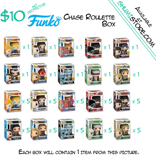 Shumi Funko Chase Roulette Mystery Box 6-18-2020