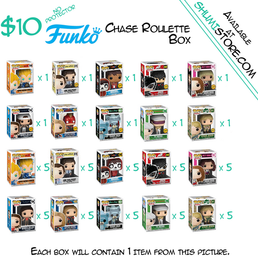 Shumi Funko Chase Roulette Mystery Box 6-26-2020