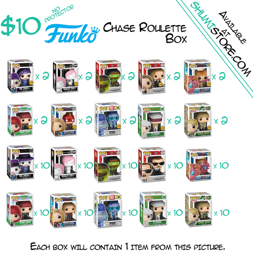Shumi Funko Chase Roulette Mystery Box 7-7-2020
