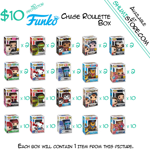 Shumi Funko Chase Roulette Mystery Box 7-24-2020