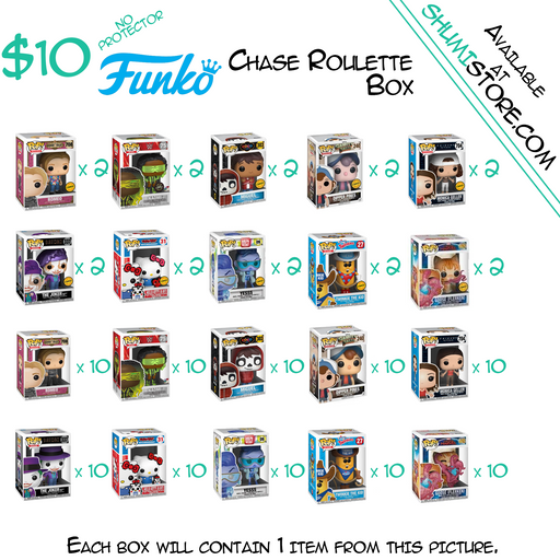 Shumi Funko Chase Roulette Mystery Box 8-3-2020