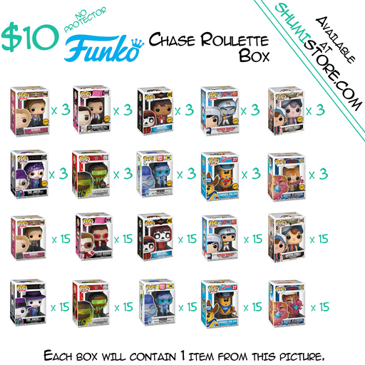 Shumi Funko Chase Roulette Mystery Box 8-7-2020