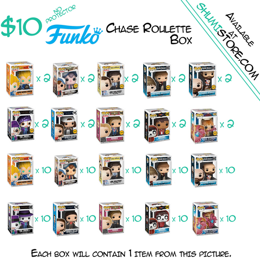 Shumi Funko Chase Roulette Mystery Box 10-26-2020