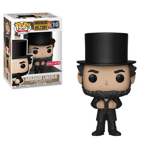 Funko POP! American History - Abraham Lincoln Vinyl Figure #10 Target Exclusive (NOT 100% MINT)