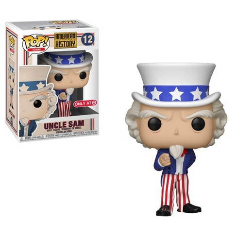 Funko POP! American History - Uncle Sam Vinyl Figure #12 Target Exclusive (NOT 100% MINT)