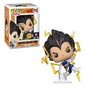 Funko POP! Dragon Ball Super - Vegeta Galick Gun Chase #712 Chalice Exclusive [READ DESCRIPTION]