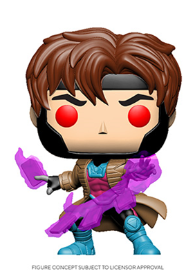 [PRE-ORDER] Funko POP! X-Men Classic - Gambit with Cards Vinyl Figure