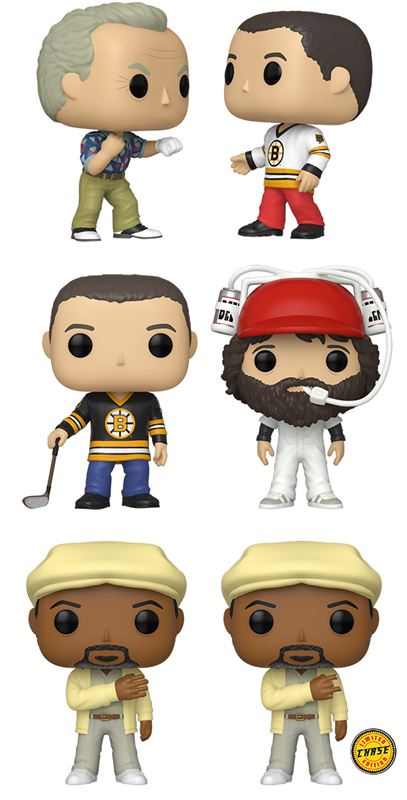 [PRE-ORDER] Funko POP! Happy Gilmore - Set of 6 (2-Pack And Chase Included)