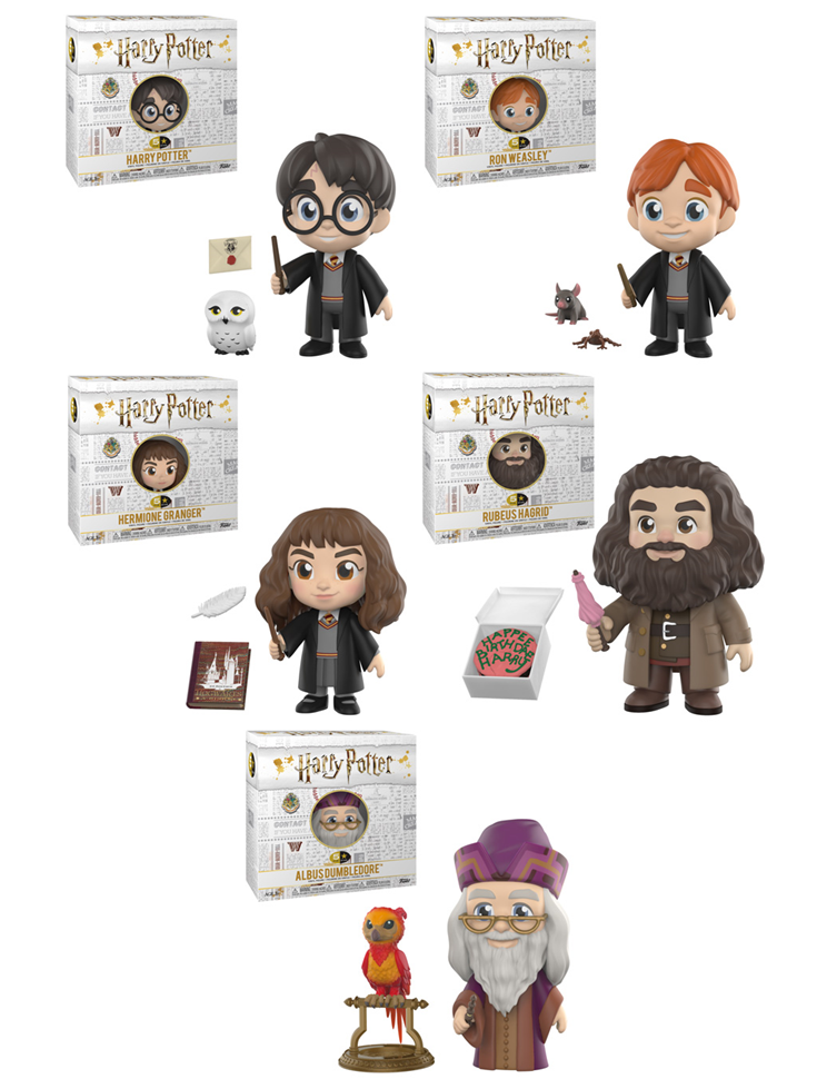 Funko 5 Star: Harry Potter - Complete Set of 5