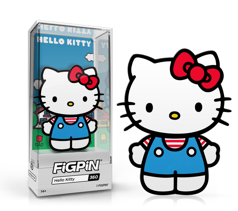 FiGPiN Hello Kitty #360 Classic Sanrio Hard Case {Pre-Order}