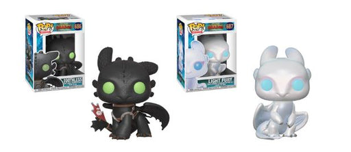 Funko POP! How To Train Your Dragon - Complete Set of 2