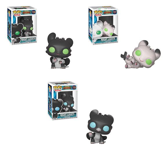 Funko POP! How To Train Your Dragon - Complete Set of 3