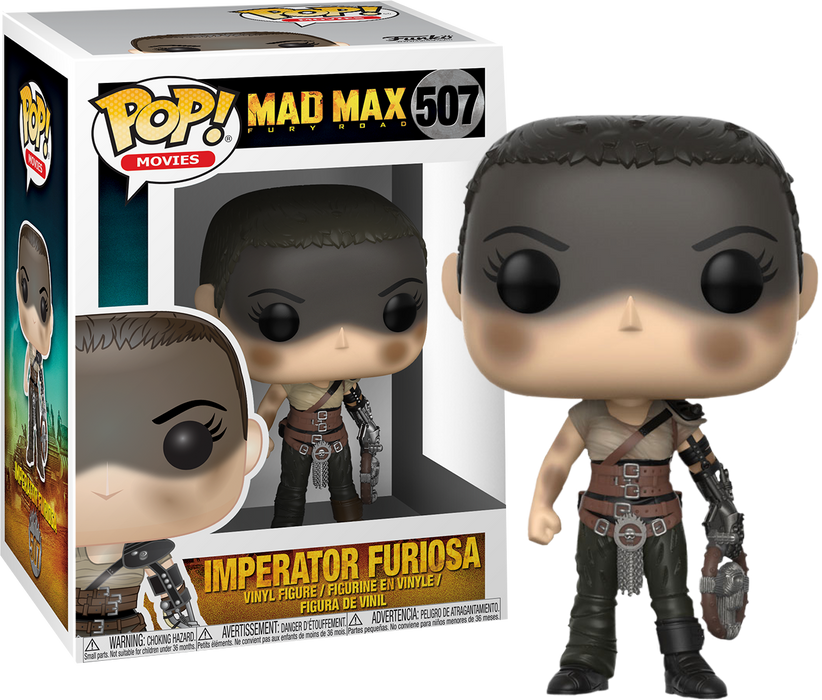 Funko POP! Mad Max Fury Road - Imperator Furiosa Vinyl Figure #507