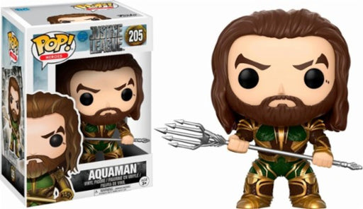 Funko POP! Justice League - Aquaman Vinyl Figure #205