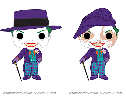 [PRE-ORDER] Funko POP! Batman 1989 - Joker with Hat Common and Chase Bundle Set