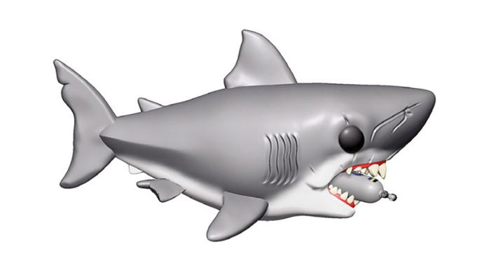 Funko POP! Jaws - Jaws with Diving Tank 6-Inch Vinyl Figure