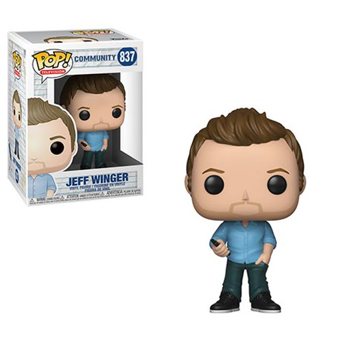 Funko POP! Community - Jeff Winger Vinyl Figures #837