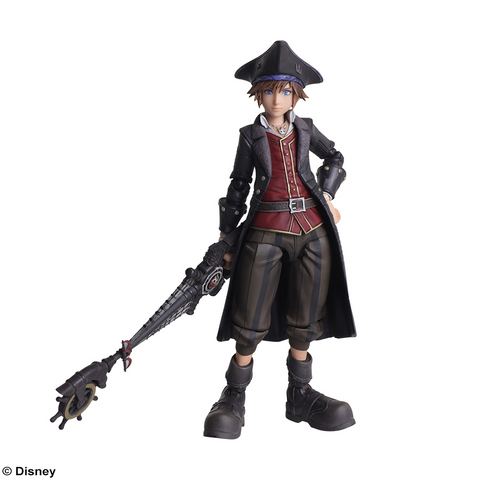 [PRE-ORDER] SQUARE ENIX: KINGDOM HEARTS III BRING ARTS™ - Sora Pirates of the Caribbean Version
