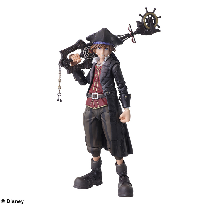 Bring Arts Kingdom Hearts III Sora Pirates of the Caribbean Ver Figure Authentic
