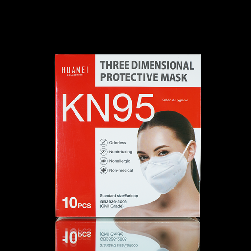 HUAMEI - KN95 Mask - 10 Pack