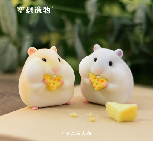 [PRE-ORDER] KONGZOO: The Gluttonous Hamsters Series - 1 Blind Box Figure