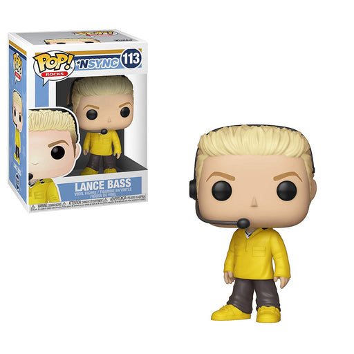 Funko POP! Rocks: *NSYNC - Lance Bass Vinyl Figure #113