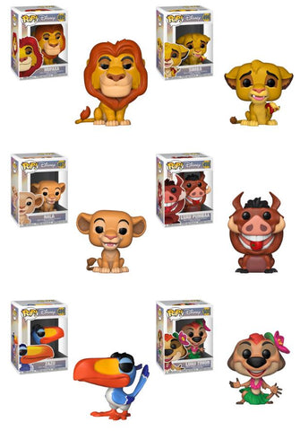 [PRE-ORDER] Funko POP! Lion King - Complete Set of 6