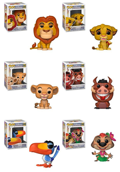 Funko POP! Lion King - Complete Set of 6