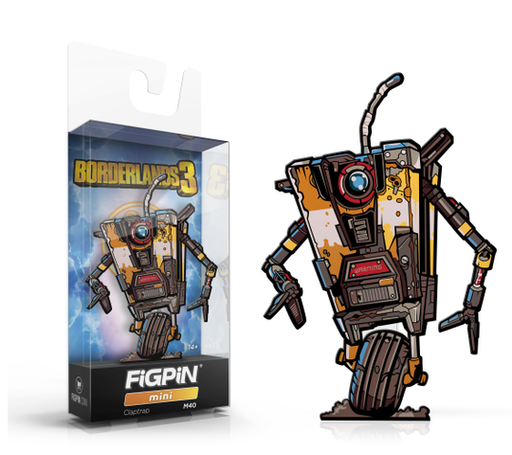 FiGPiN mini: Borderlands 3 - Claptrap #M40