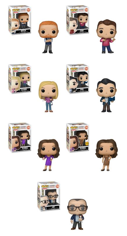 Funko POP! Modern Family - Complete Set of 7 Chase Included