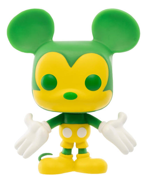 Funko POP! Mickey Mouse (Green and Yellow) Vinyl Figure #1 Funko-Shop Exclusive [READ DESCRIPTION]