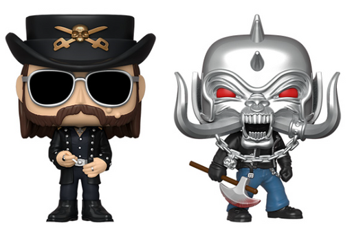 [PRE-ORDER] Funko POP! Rocks: Motorhead - Set of 2