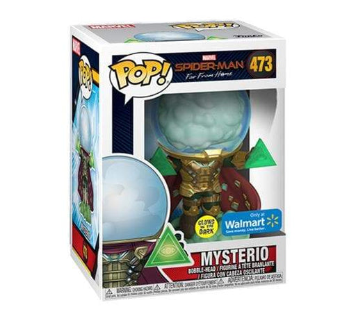 Funko POP! Spider-Man Far From Home - Mysterio Glow in the Dark Vinyl Figure #473 Walmart Exclusive