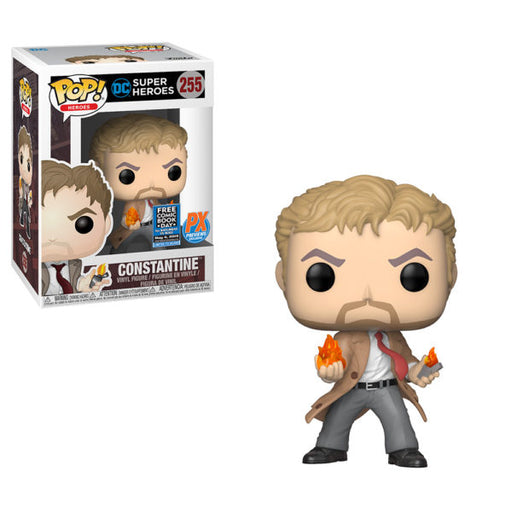 [NOT 100% MINT / NO PROTECTOR] Funko POP! DC Heroes - John Constantine Vinyl Figure Preview Exclusives (PX) #255