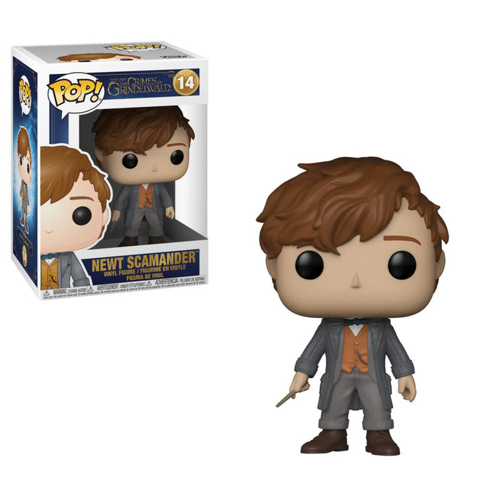 Funko POP! Fantastic Beasts: The Crimes of Grindelwald - Newt Scamander Vinyl Figure #14