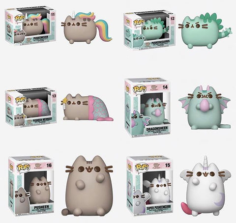 [PRE-ORDER] Funko POP! Pusheen - Complete Set of 6